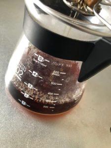 コーヒーの分量参考写真